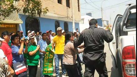 Comuneros de Aucallama intentaron linchar a invasores de terrenos