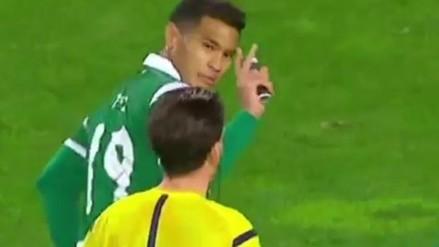 Youtube: Teo Gutiérrez anotó golazo y le quitó accesorio al árbitro para celebrar