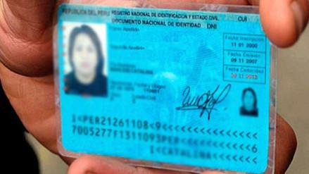 Reniec entrega DNI a domicilio en seis distritos de Lima