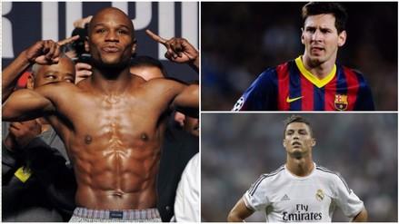 Facebook: Floyd Mayweather le ganó a Messi y Cristiano en popularidad (VIDEO)