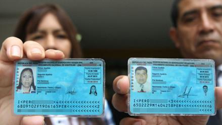 Reniec restituye la identidad de 800,000 ciudadanos