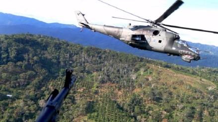 Vraem: Ejército reportó intercambio de disparos contra presuntos terroristas