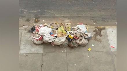 Chorrillos: camión de basura no recoge desmonte desde hace una semana