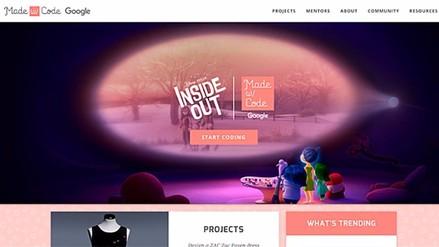 Disney y Google se unen para motivar a programar a niñas
