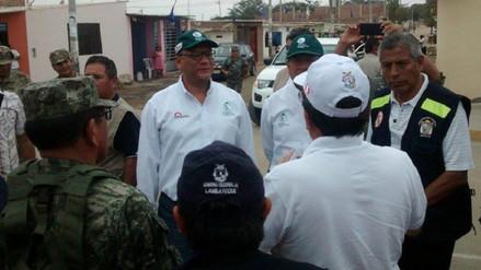 """Lambayeque: ministro de Agricultura calificó de positivo simulacro por """"El Niño"""""""