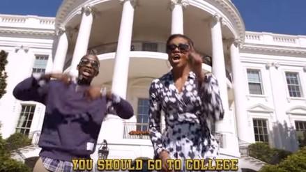 EEUU: Michelle Obama anima a los jóvenes a ir a la universidad a ritmo de rap