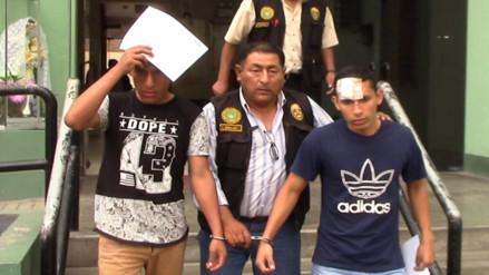 Huaral: intervienen a dos oficiales de marina por robo agravado