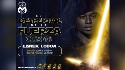 Facebook: Morelia de México presentó jugador al mismo estilo de Star Wars