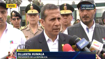 Humala: Perú superó la meta de 35 mil has. de coca ilegal erradicada