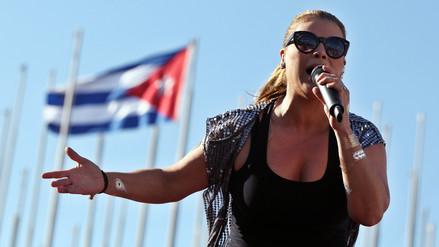 Olga Tañón cumplió su promesa a cubanos