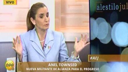 Anel Townsend: Nunca estuve inscrita en Unión por el Perú