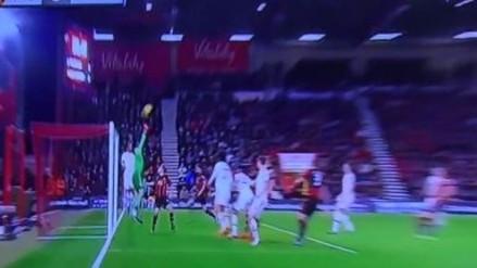 Manchester United: David De Gea fue víctima de un golazo de tiro libre (VIDEO)
