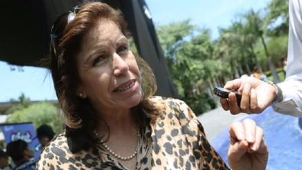 Para Lourdes Flores la alianza PPC-Apra generará estabilidad en el país