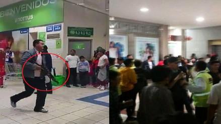 Mega Plaza: disturbio se generó por gresca en concierto, aclara PNP