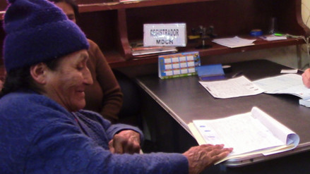 Registro Civil Bilingüe brinda servicios en aimara, jaqaru y awajún