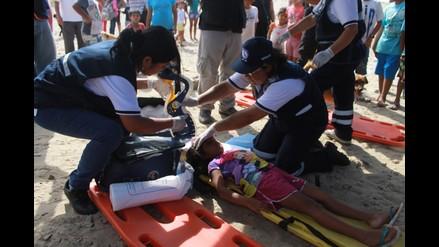 Yacila se prepara con simulacro de evacuación por Fenómeno El Niño