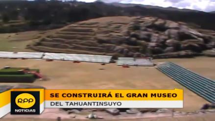 Suscriben convenio para crear Gran Museo del Tahuantinsuyo