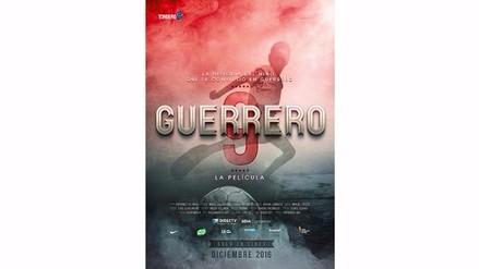Guerrero: este es el afiche oficial de la película de Paolo Guerrero