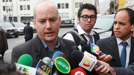Megacomisión: Sergio Tejada recibió notificación de decisión judicial