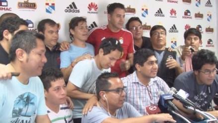 Sporting Cristal: Daniel Ahmed y su conmovedora despedida de los rimenses (VIDEO)