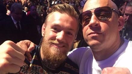 Instagram: Vin Diesel quiere al campeón UFC Conor McGregor para próxima película