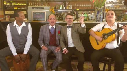 Los Juanelos y Bruno Pinasco recrean versión de 'Quinceañera'