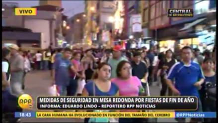Mesa Redonda: PNP y Municipalidad de Lima redoblan seguridad