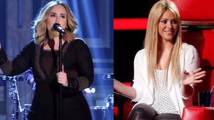 Adele es acusada de plagiar un tema de Shakira