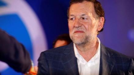 España: Mariano Rajoy fue agredido durante un acto electoral