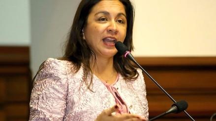 Marisol Espinoza: Archivan demanda del nacionalismo contra su renuncia