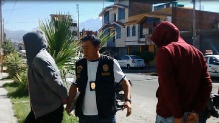 Capturan a banda delincuencial en Yanahuara