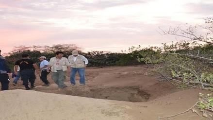 Policía detiene a huaqueros en zona arqueológica de Cayaltí