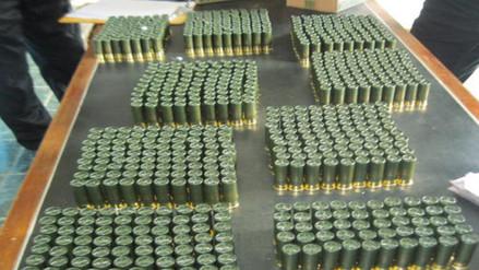 Intervienen a peruano con mil municiones de contrabando en Ecuador