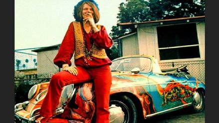 Subastado en 1.7 millones de dólares el colorido Porsche de Janis Joplin