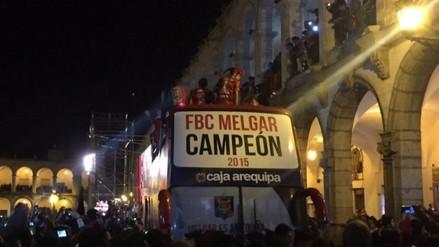 Arequipa vive una fiesta tras victoria del FBC Melgar
