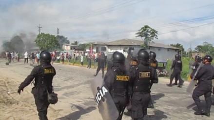 Iquitos: desalojo suspendido terminó en enfrentamiento