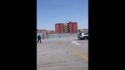 Callao: estacionamiento para personas con discapacidad no es accesible