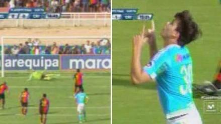 Melgar vs. Sporting Cristal: penal atajado por Penny terminó en gol rimense (VIDEO)