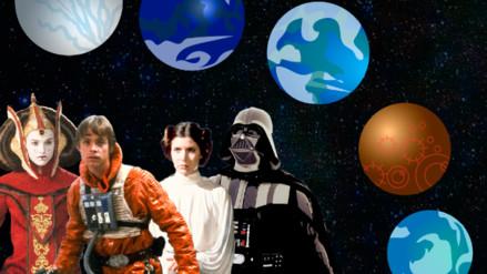Infografía   Star Wars: La Galaxia y otros datos de la saga