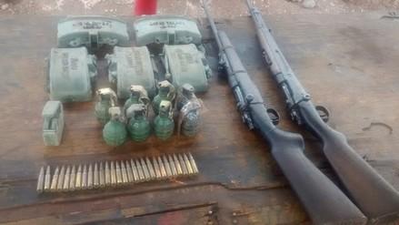 Vraem: patrullas hallan material de guerra abandonados