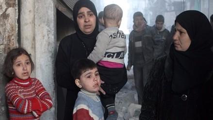 Nueve de cada 10 sirios refugiados en Jordania y Líbano viven en pobreza