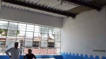 El Niño: inspeccionan trabajos en centros educativos de Trujillo