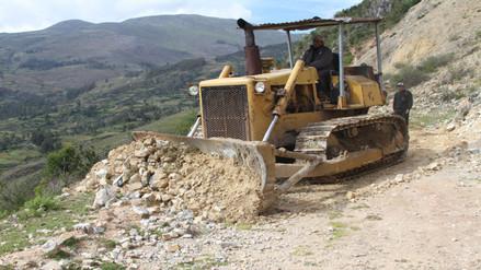 Advierten peligros de deslizamientos y huaicos en la ruta de Ocobamba