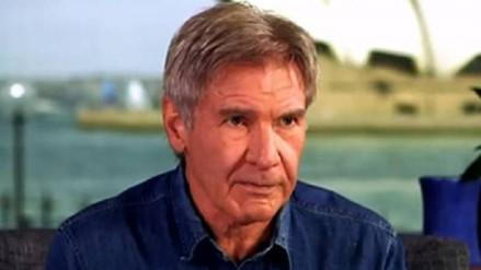 Harrison Ford: gracias a Han Solo he tenido trabajo toda mi vida