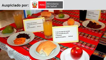 Minsa informará sobre alimentación saludable en 40 mercados de Lima y Callao