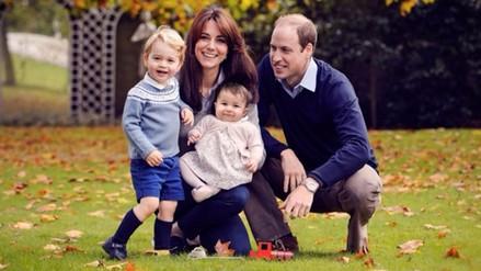 Príncipe Guillermo: esta es la foto oficial de su familia en Navidad