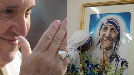 El papa autoriza la canonización de la madre Teresa de Calcuta
