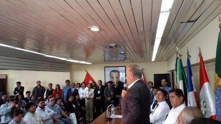 Alan García: David Salazar será candidato a segunda vicepresidencia