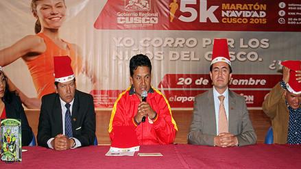 Gobierno Regional impulsa Maratón Navideña 5K por los niños