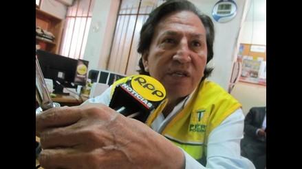 Alejandro Toledo propone más sueldo para maestros y cadena perpetua